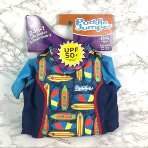 New Coleman Puddle Jumper kids 2 in 1 life jacket
